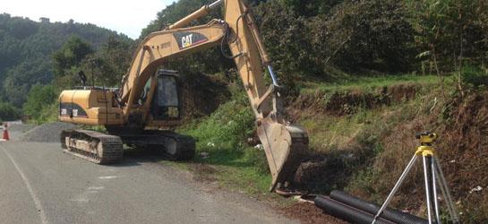 Kanalizasyon hattı İller Bankası tarafından ihale edilerek yapımına başlamıştır