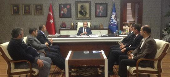 Büyükşehir Belediye Başkanı Orhan Fevzi GÜMRÜKÇÜOĞLU ziyareti