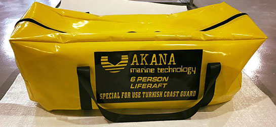 Akana Deniz Teknolojileri %100 Yerli Olarak Life Raft Üretimine Başladı